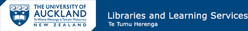 Logo - The University of Auckland Library