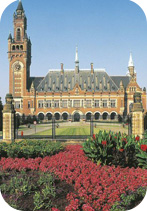 The Netherlands - The Hague - Peace Palace (Vredespaleis), seat of the International Court of Justice. Credit: De Agostini Picture Library/Universal Images Group.