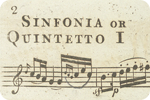 Image: Haydn. J. (181?). Haydn's grand symphonies… London: Printed for the proprietor, Vol.1. [Detail].