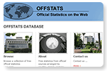 OFFSTATS - Official Statistics on the Web