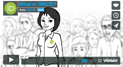 What is ORCID video